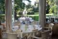 Villa Luppis Saal Blick Park