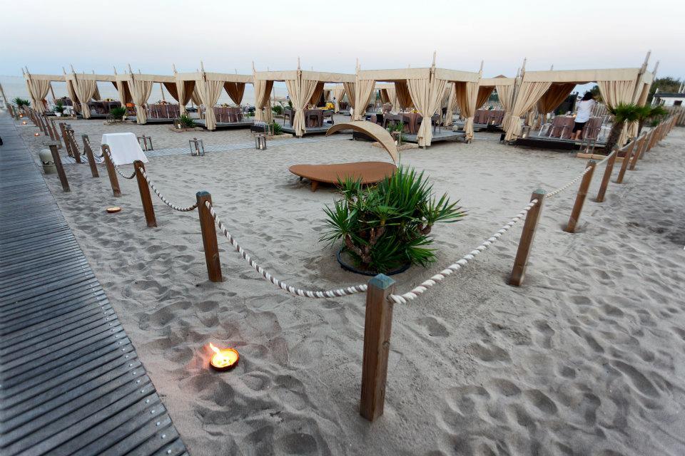 zona suite spiaggia